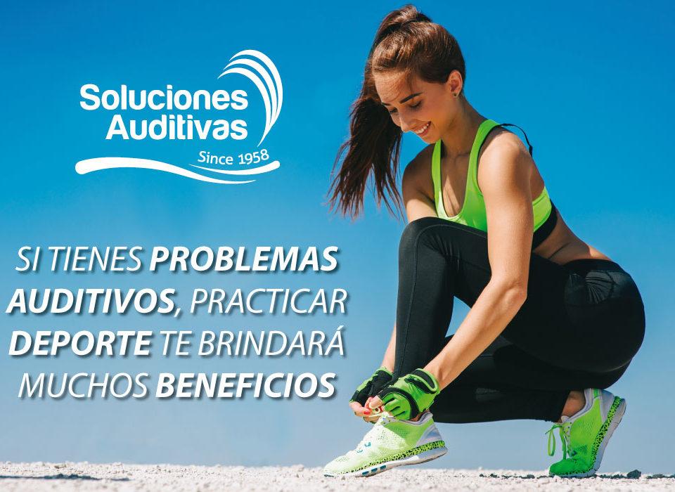 Si tienes problemas auditivos, practicar deporte te brindará muchos beneficios