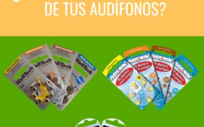 ¿Sabes identificar las pilas de tus audífonos?
